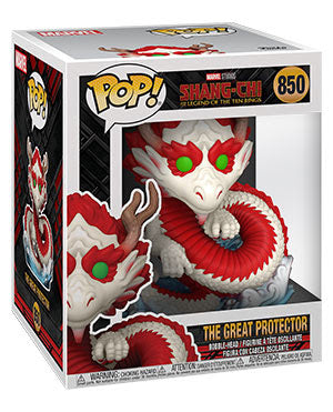 **Pre-Order** Funko Pop Marvel Shang-Shi and the Legend of the Ten Rings The Great Protector (Not valid for free shipping)