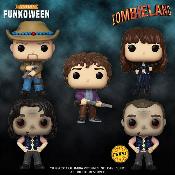 Funko Pop Movies Zombieland Bundle of 5 (Enter Free Shipping in the Promo box at checkout valid in the USA only)
