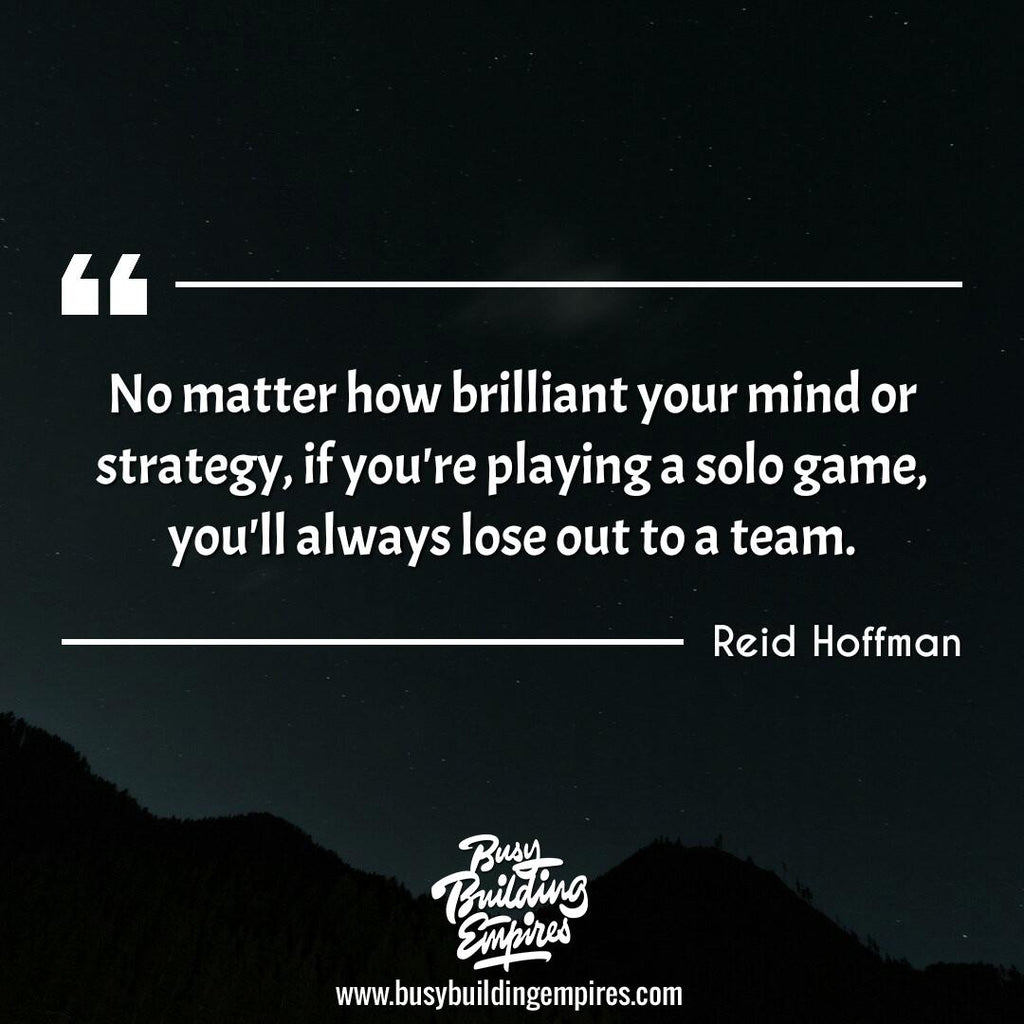 Startup Motivational Quote #24 - Reid Hoffman