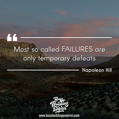Leadership quote by Napolean Hill