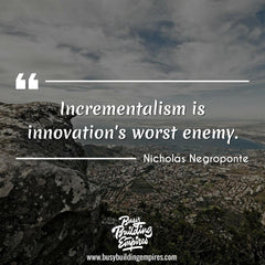 Entrepreneur quote about innovation