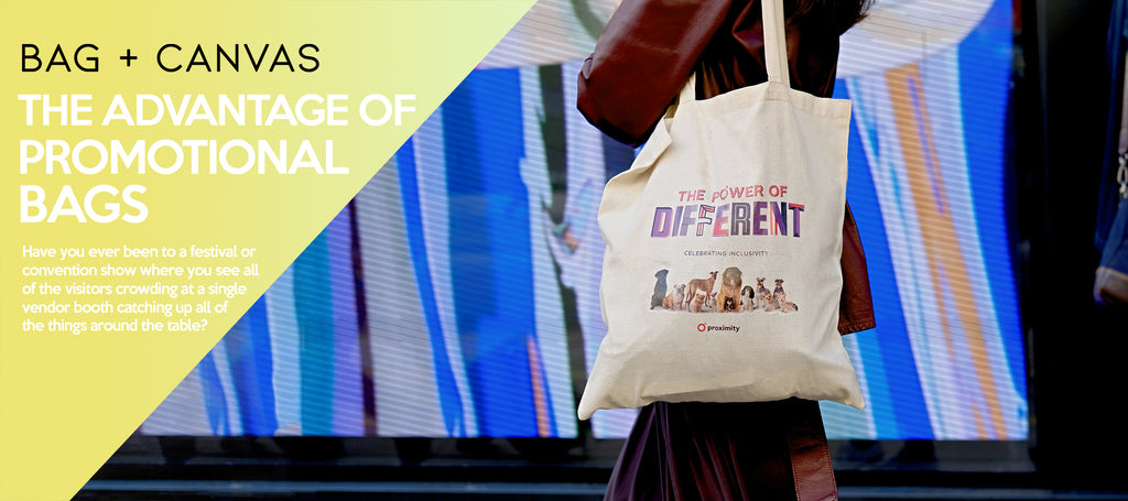 THE ADVANTAGE OF PROMOTIONAL BAGS