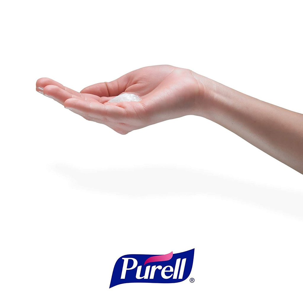 Purell Advanced Hand Sanitizer Foam 70% Alcohol 1200ML (40.5 OZ/Bottle) Refill, 2/CT - BAGANDCANVAS.COM