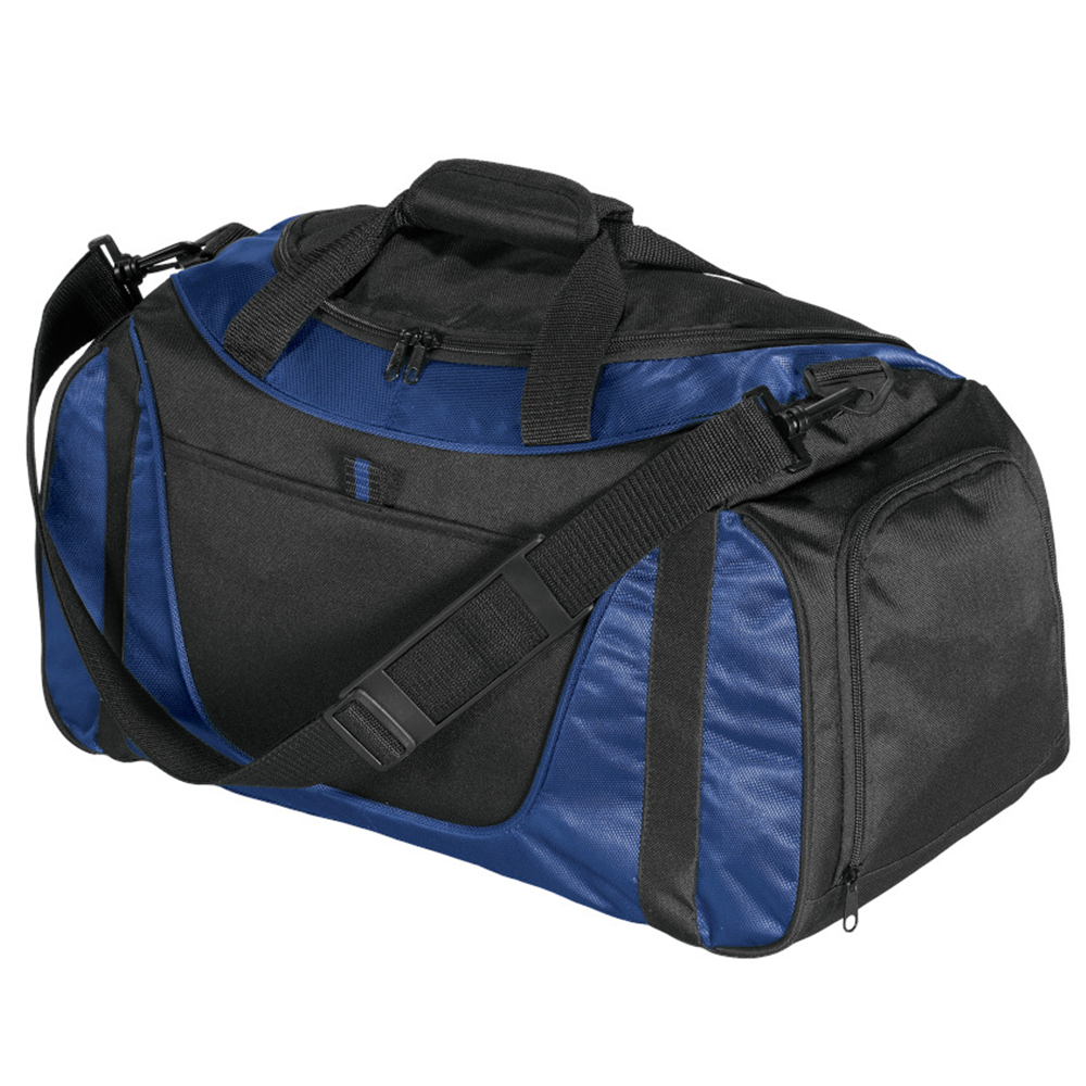Small Two-Tone Duffel - BAGANDCANVAS.COM