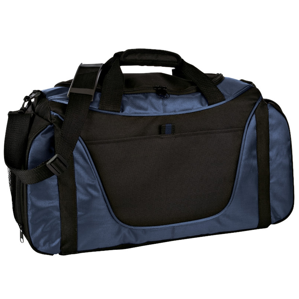 Medium Two-Tone Duffel - BAGANDCANVAS.COM