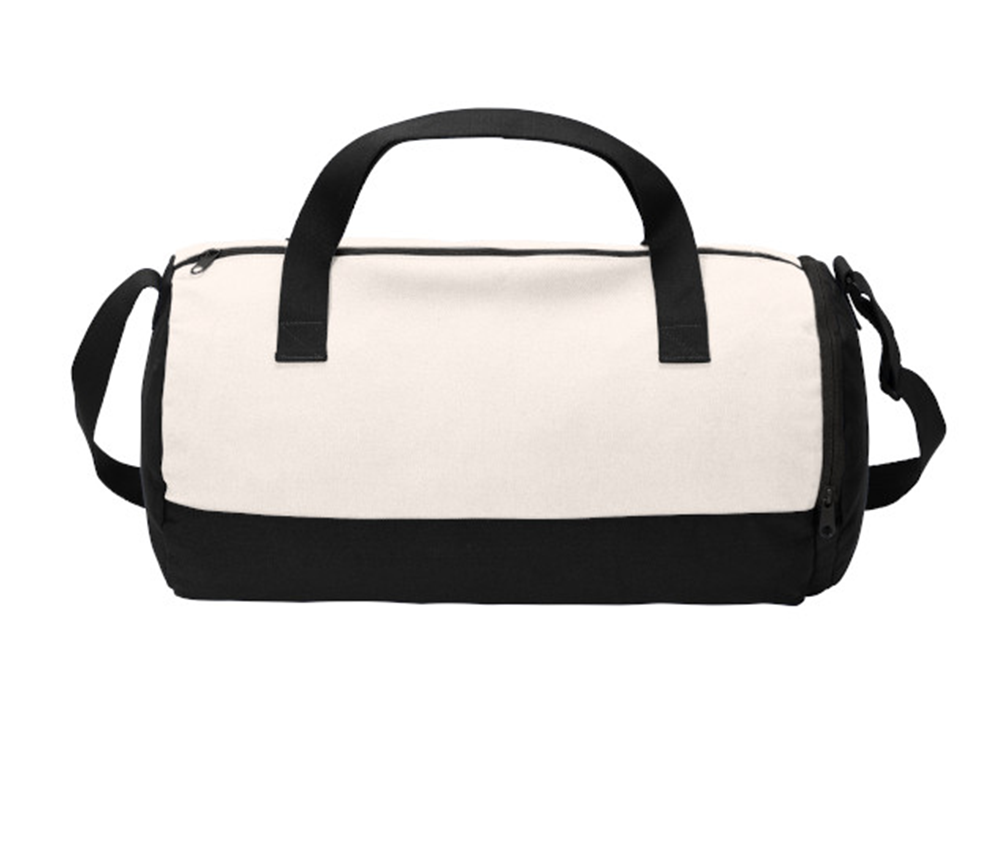 Cotton Barrel Duffel - BAGANDCANVAS.COM