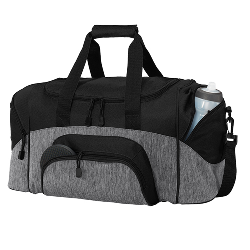 Small Colorblock Sport Duffel - BAGANDCANVAS.COM