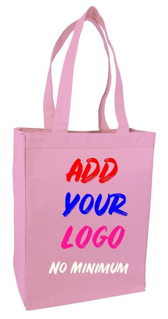 Custom Heavy Shopping Canvas Tote Bag - BAGANDCANVAS.COM
