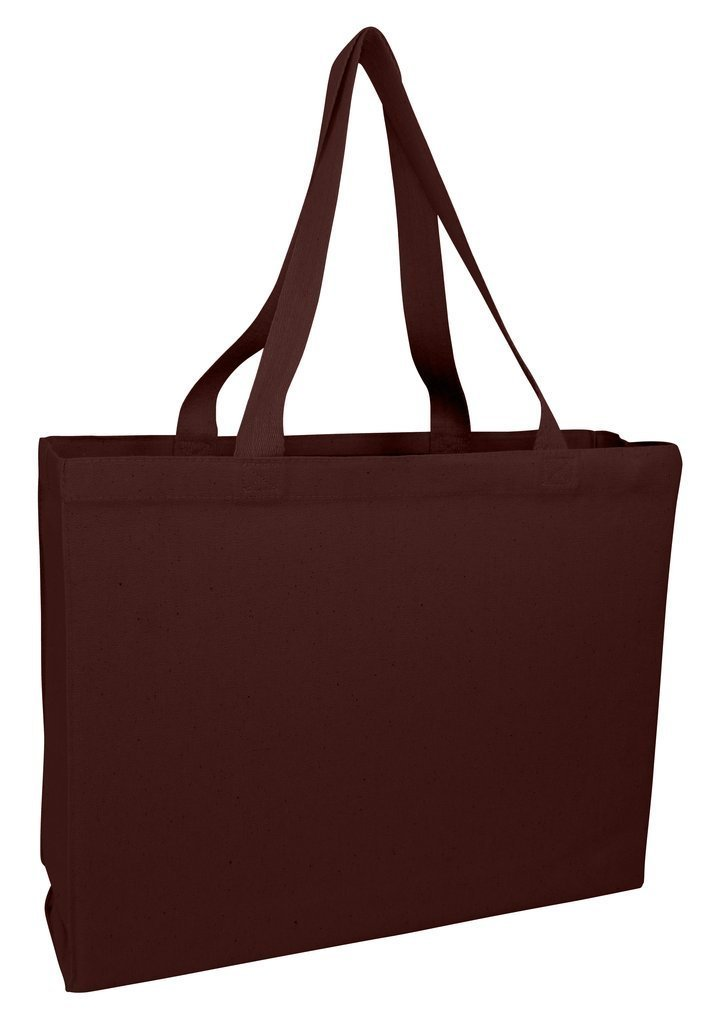Full Gusset Heavy Canvas Tote Bags - BAGANDCANVAS.COM