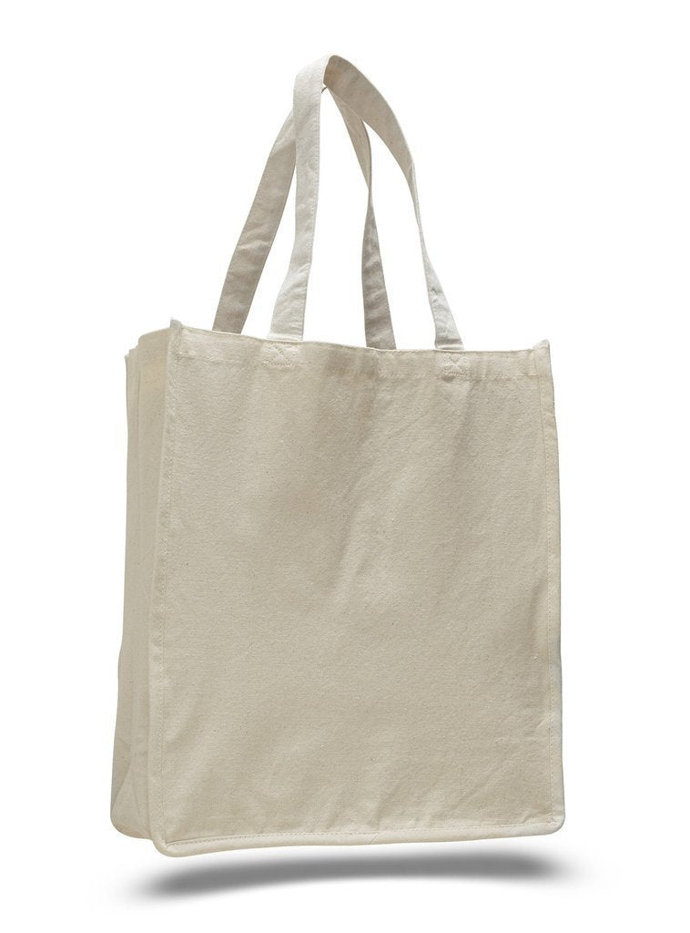 Heavy Shopper Canvas Tote Bag - BAGANDCANVAS.COM