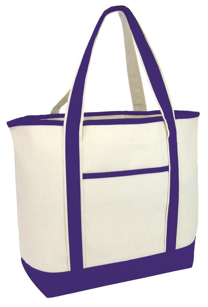 Jumbo Size Heavy Canvas Deluxe Tote Bag - BAGANDCANVAS.COM