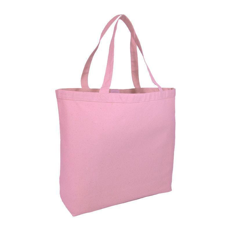 Jumbo Heavy Canvas Tote Bags With Hook And Loop Closure - BAGANDCANVAS.COM