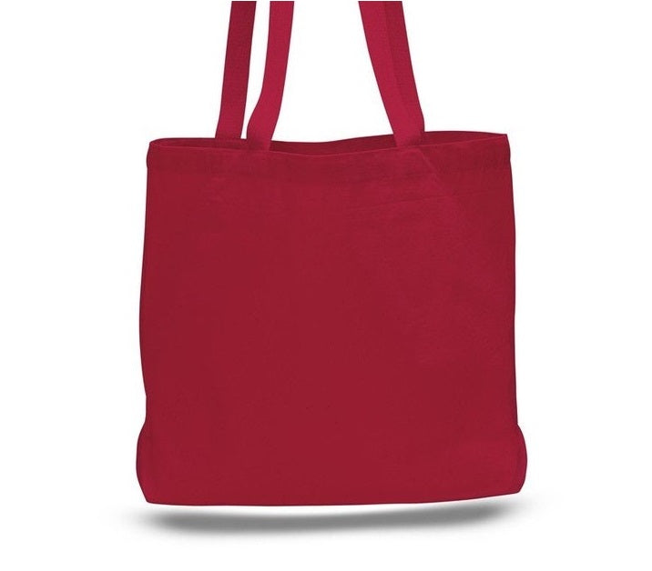 Custom Canvas Tote Bags Large Messenger - BAGANDCANVAS.COM