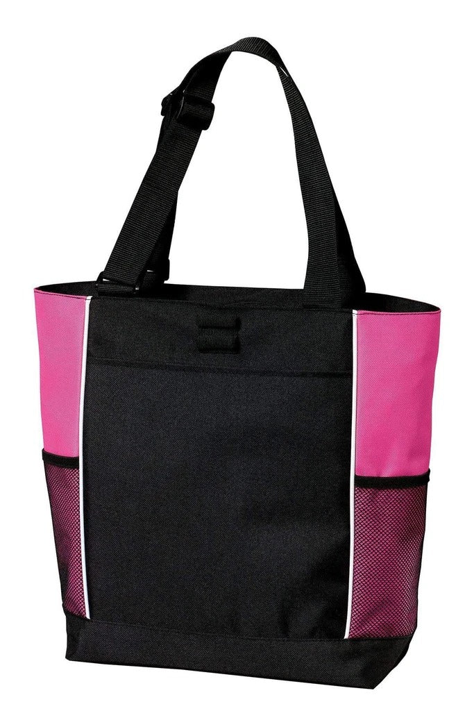 Panel Polyester Canvas Tote Bag - BAGANDCANVAS.COM