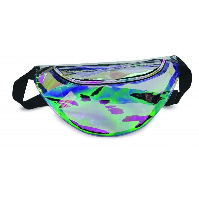 Clear Holographic Fanny Pack - BAGANDCANVAS.COM