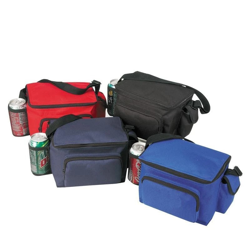 Multi-Pocket Polyester Cooler Lunch Bags - BAGANDCANVAS.COM