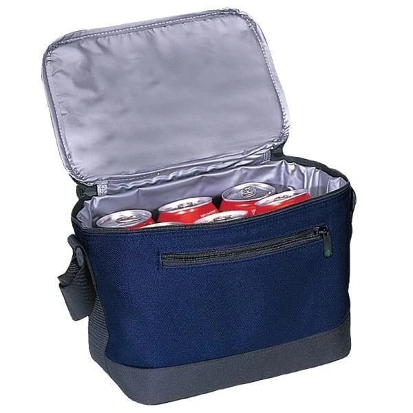 Deluxe Polyester Cooler Lunch Bag - BAGANDCANVAS.COM