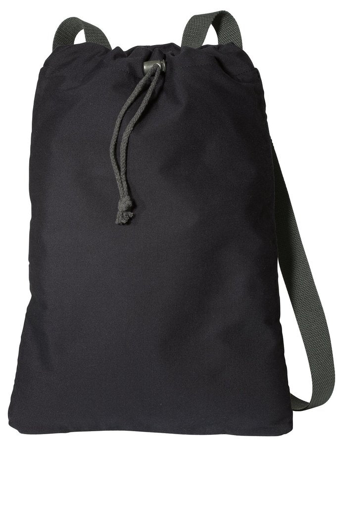 Canvas Cinch Drawstring Backpack - BAGANDCANVAS.COM