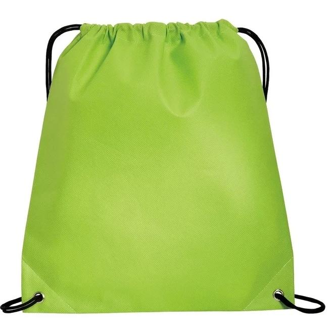 Polypropylene Non-Woven Cinch Pack / Drawstring Bag - BAGANDCANVAS.COM