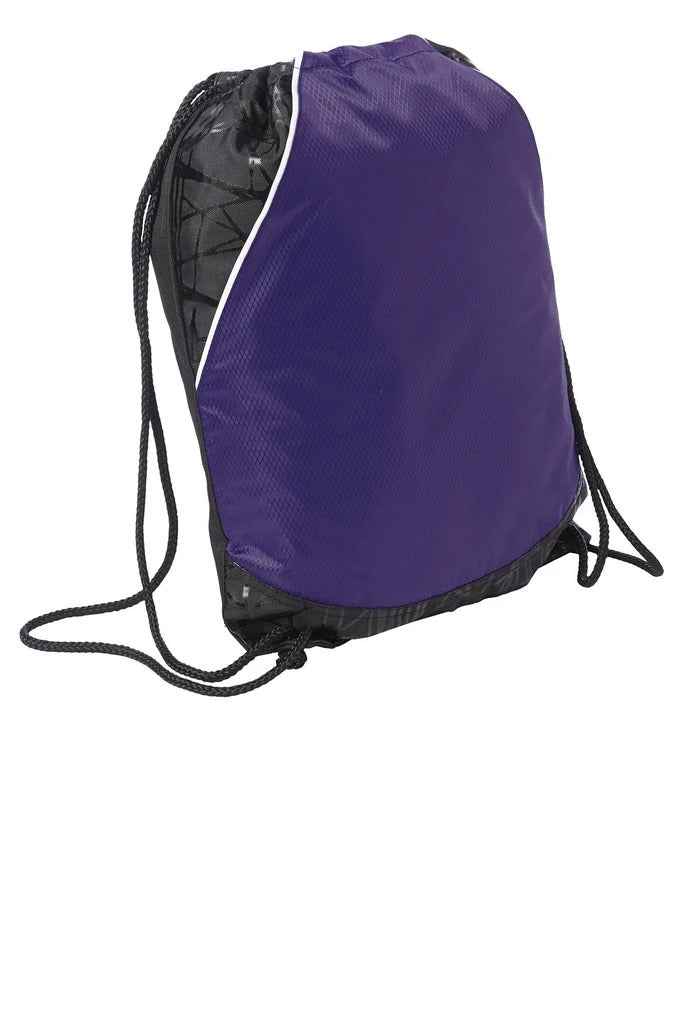 Polyester Diamond Rival Cinch Pack Drawstring - BAGANDCANVAS.COM