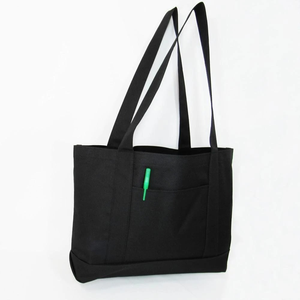 Shopping Tote Bags Solid With Pvc Backing - BAGANDCANVAS.COM