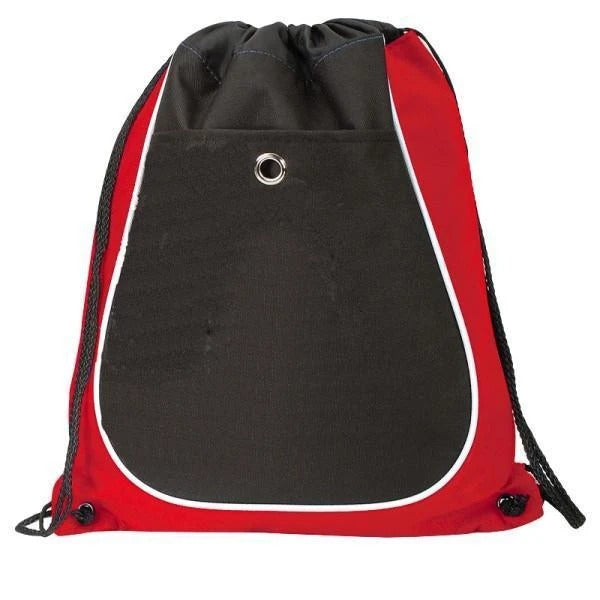 Tri-Color Cool Drawstring Bag / Cinch Pack - BAGANDCANVAS.COM