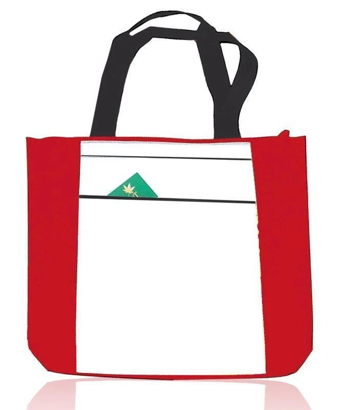 Low Price Zippered Polyester Tote Bag - BAGANDCANVAS.COM