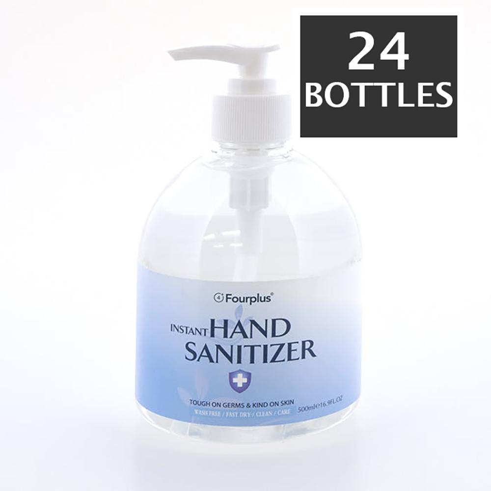 Made in USA - 70% Alcohol Gel Instant Hand Sanitizer Pumps 16.9fl oz / ( 500ml ) - BAGANDCANVAS.COM