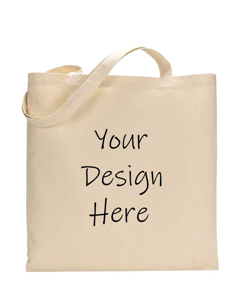Customized 100% Cotton Lightweight Canvas Tote Bags - BAGANDCANVAS.COM