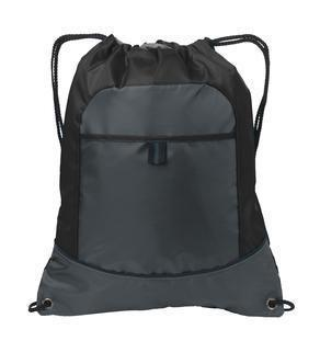 Two-Tone Drawcord Closure Backpack - BAGANDCANVAS.COM