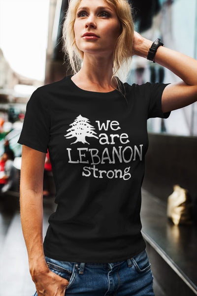 We Are Lebanon Strong T-Shirt w/ Tree