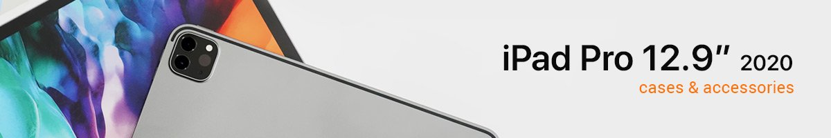 """iPad Pro 12.9"""" (2020) Accessories Collection Banner"""
