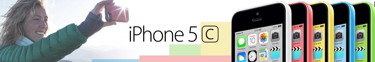 iPhone 5C Accessories Collection Banner