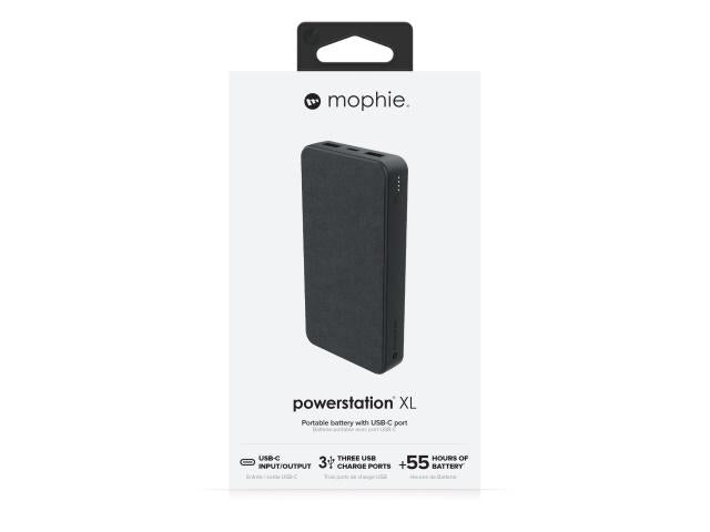 Mophie Powerstation XL Portable Battery - Black (15,000 mAh)