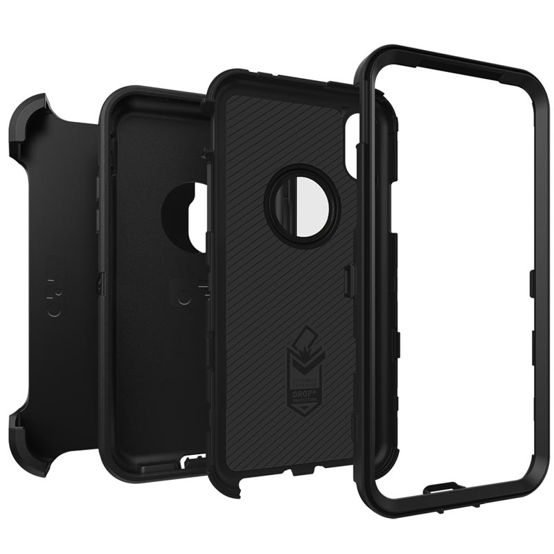 "OtterBox Defender Case For iPhone X/XS (5.8"") - Black"