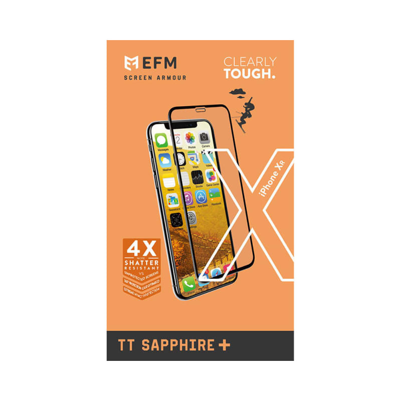 "EFM TT Sapphire + Screen Armour For iPhone XR (6.1"")"