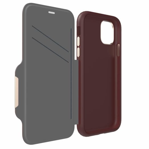 EFM Monaco D3O Leather Wallet Case Armour For iPhone 11 Pro Max
