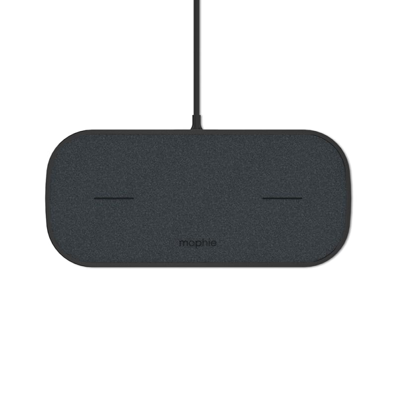 Mophie Dual Wireless Charging Pad Fabric Universal Wireless Charger