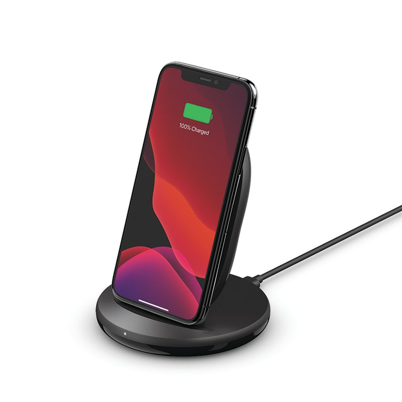 Belkin BoostCharge Wireless 15W Charging Stand Universally compatible