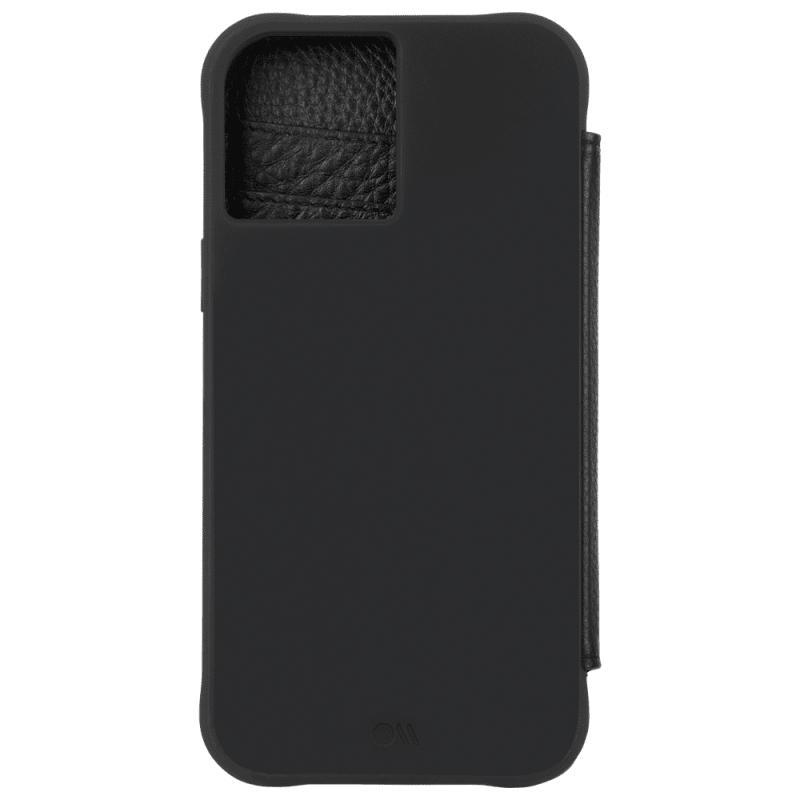 "Case-Mate Wallet Folio Case For iPhone 12 mini 5.4"" Black"