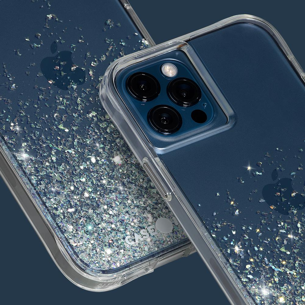 "Case-Mate Twinkle Ombre Case For iPhone 12/12 Pro 6.1"" Stardust"