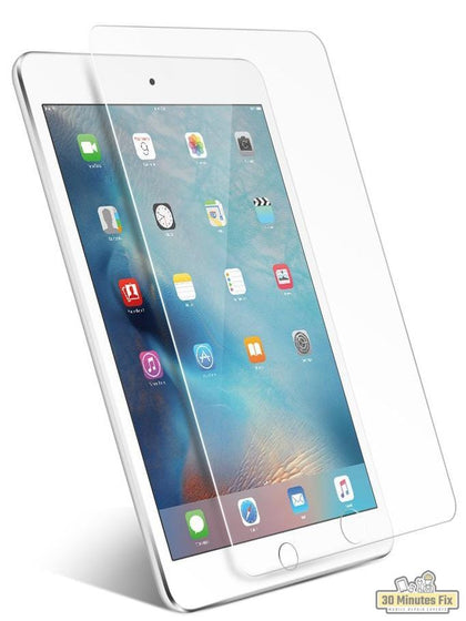 9H Tempered Glass Screen Protector - iPad - 30 Minutes Fix
