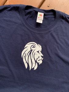 Distressed Endeavor Lion Tee Shirt