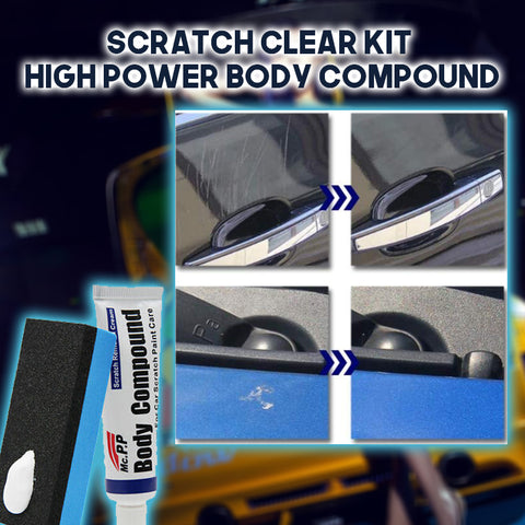 anti-scratch car body compound