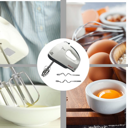 Portable 7 Speed Professional Baking Electric Hand Mixer Professional