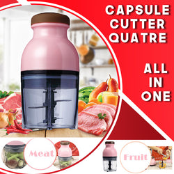 Capsule Cutter Quatre Food Processor Blenders Mixers Grinder Chopper