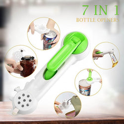 Multfunctional Safe Comfortable Easy Can Opener 6 in 1