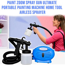Paint Zoom Spray Gun Ultimate Portable Painting Machine Home Tool