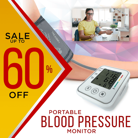 Genuine Digital Electronic Portable BP App Blood Pressure Monitor
