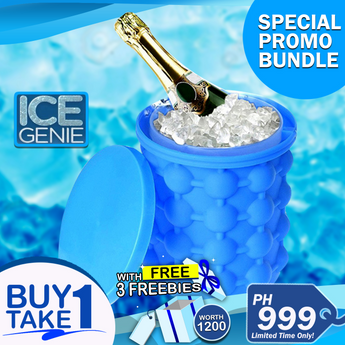 Buy 1 Take 1 Ice Genie w/ 3 Freebies